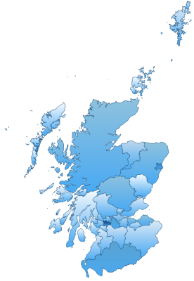Scotland Admin areas